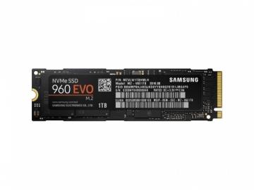 Kietasis diskas Samsung SSD 960 EVO NVMe M.2 1TB 3200/1900MB/s, V-nand