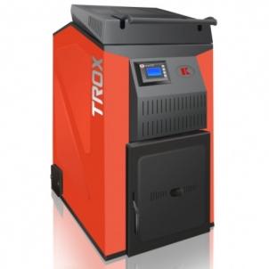 Kieto kuro - biomasės katilas TROTEX 25 kW Kieto kuro tradiciniai katilai