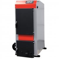 Kieto kuro katilas KRUK MEDIUM S su ventiliatoriumi ir elektriniu valdymu (galia 28 kW) A traditional solid fuel boilers