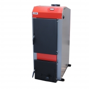 Kieto kuro katilas KRUK MEDIUM su mechaniniu valdymu (galia 22 kW) A traditional solid fuel boilers