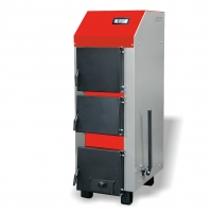 Kieto kuro katilas Protech KRUK W100, 100kw (vertikalus) mechaninis A traditional solid fuel boilers