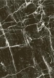Kilimas SPACE 37201-792, 160x230 juodas marmuro imitacijos Carpets