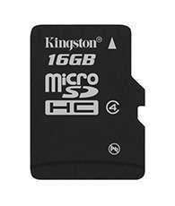 KINGSTON 16GB microSDHC Class 4 SP
