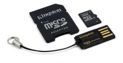 KINGSTON 16GB microSDHC Mobility Kit