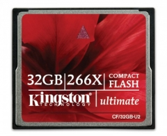 Kingston 16GB Ultimate CompactFlash 266x w/Recovery s/w