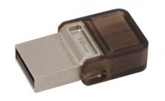Kingston Flashdrive 16GB DT microDuo USB 3.0 micro&USB OTG