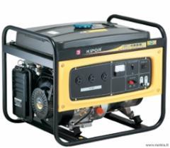 KIPOR KGE4000X Benzininis generatorius Benzīna elektroģeneratoru