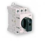 Kirtiklis modulinis, 3P, 125A, su pasukama rankenėle, pilka-juoda, LAS, ETI 04660108 Packet switches