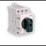Kirtiklis modulinis, 3P, 125A, su pasukama rankenėle, pilka-juoda, LAS, ETI 04660108
