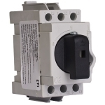 Kirtiklis modulinis, 3P, 32A, su pasukama rankenėle, pilka-juoda, LAS, ETI 04660013