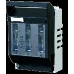 Kirtiklis peiliniam saugikliui, 3P, 160A, 0 gabaritas, horizontalus, LTL0-3/9, ETI 01701250