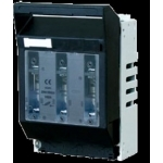 Kirtiklis peiliniam saugikliui, 3P, 250A, 1 gabaritas, horizontalus, LTL1-3/9, ETI T1999001 Rūpniecības drošinātāji