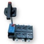 Kirtiklis tvirtinamas, 3P, 250A, su rankena ant skydo durelių, LA, ETI 04663410 Packet switches