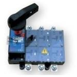 Kirtiklis tvirtinamas, 3P, 400A, su rankena, LA, ETI 004662133 Paketiniai perjungėjai