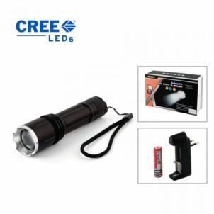 Kišeninis žibintuvėlis CREE LED SBT6-1 Prožektoriai, žibintai
