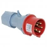 Kištukas 5P, 16A, nešiojamas, IP44, TP-ELECTRIC 3105-301-1600 Industrial sockets