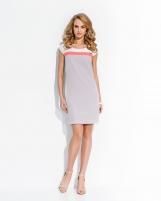 Klasikinė suknelė trumpomis rankovėmis