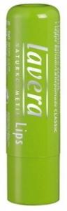 Klasikinis lūpų balzamas Lavera, kosmetikos 4,5g Blizgesiai lūpoms