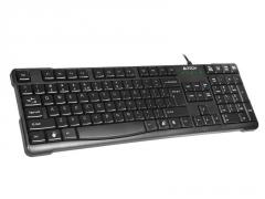 Klaviatūra A4-Tech KR-750 USB Juoda, US