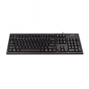 A4Tech keyboard + optical mouse (KR-85+OP-620D), USB (Black) (US+RU) Keyboard
