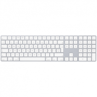Klaviatūra Apple Magic Keyboard with Numeric Keypad Wireless, Keyboard layout English, Swedish