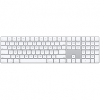 Klaviatūra Apple Magic Keyboard with Numeric Keypad Wireless, Keyboard layout English