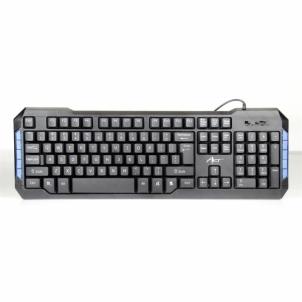 Klaviatūra ART multimedial keyboard AK-47 USB black