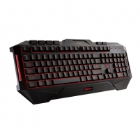 Klaviatūra Asus CERBERUS 90YH00R1-B2UA00 Gaming keyboard, Wired, Keyboard layout US, Black, Multi-color fully backlighting, EN, Numeric keypad, 1100 g