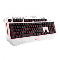 Klaviatūra Asus CERBERUS ARCTIC keyboard 90YH00V1-B2UA00 Wired, Wired, Keyboard layout US, EN, Multi-color fully backlighting, Numeric keypad, 1100 g, White