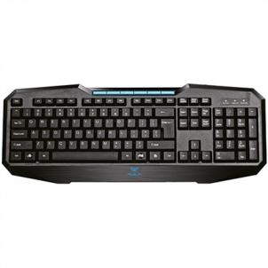 Klaviatūra Aula Adjudication expert gaming keyboard USB, Keyboard layout EN, 520 g, Black