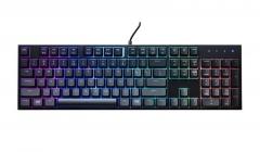 Klaviatūra CoolerMaster Keyboard and Mouse Bundle MasterKeys Lite L Combo with RGB Klaviatūros