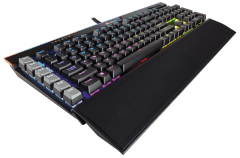 Klaviatūra Corsair Gaming K95 RGB Platinum Mechanical Keyboard - Cherry MX Speed - Black