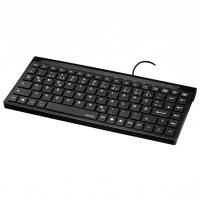 Klaviatūra HAMA Slimline Mini-Keyboard SL720 LT/RU