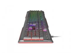 Klaviatūra Keyboard GENESIS RHOD 400 Gaming RGB Backlight, RU layout