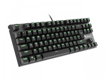 Klaviatūra Keyboard GENESIS THOR 300 TKL GAMING Green Backlight USB, US layout