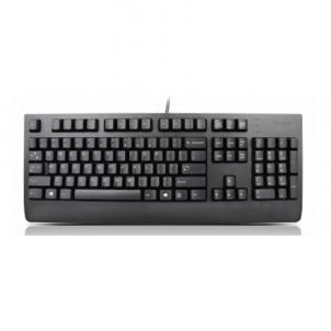 Klaviatūra Lenovo Preferred Pro II 4X30M86908 Keyboard, USB, Keyboard layout EN/ RU, Black, Russian / Cyrillic, Numeric keypad, No,