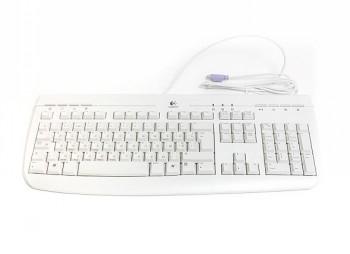 Klaviatūra LOGITECH INTERNET 350 KBD WHITE EN/RU