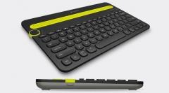 Klaviatūra Logitech Multi-Device K480, US, BT, Juoda