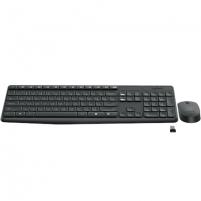 Klaviatūra Logitech Wireless Keyboard and Mouse Combo MK235, Grey, US