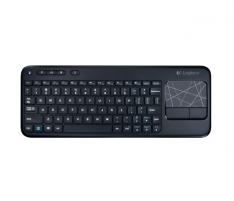 Klaviatūra LOGITECH Wrls Touch Keyboard k400 black
