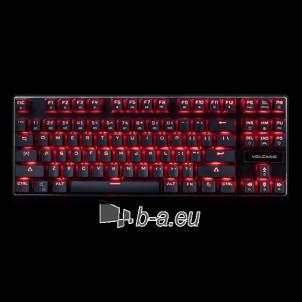 Klaviatūra MODECOM GAMING Keyboard VOLCANO LANPARTY - After Repair! Klaviatūros