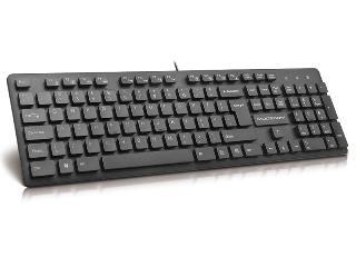Klaviatūra MODECOM MC-5006 USB Juoda Hungarian Layout