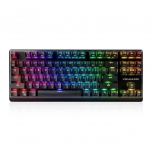 Klaviatūra MODECOM VOLCANO GAMING LANPARTY RGB (OUTEMU Brown Switch) US layout
