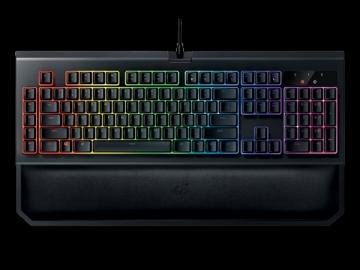 Klaviatūra Žaidimų klaviatūra Razer BlackWidow Chroma V2 Green Switch
