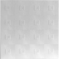 Klijuojama lubų plokštė ASTRO balta Klijuojamosios griestu paneļi