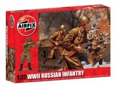 Klijuojamas modelis AIRFIX A02704 WWII RUSSIAN INFANTRY Klijuojami modeliai vaikams