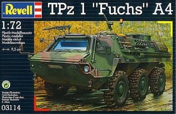 Klijuojamas modelis REVELL 03114 TPz 1 'Fuchs A4 Klijuojami modeliai vaikams