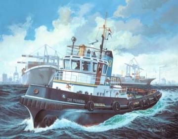 Klijuojamas modelis REVELL 05209 1/200 Ship Habour Tug Smit Frankrijk Klijuojami modeliai vaikams