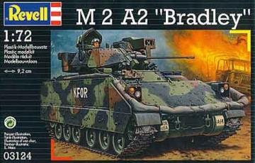 Klijuojamas modelis REVELL 03124 M2 A2 Bradley Klijuojami modeliai vaikams