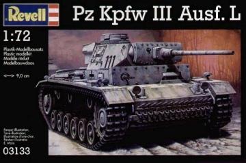 Klijuojamas modelis REVELL 03133 Pz Kpfw III Ausf L Klijuojami modeliai vaikams